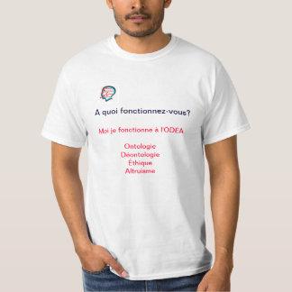 Tee Shirt à portée philosophique T-shirt