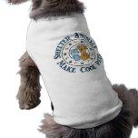 Tee - shirt animal d'animal familier de soutien de t-shirt pour animal domestique