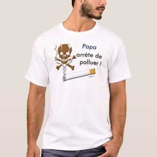tee-shirt anti-tobacco smoke den T-Shirt