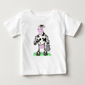 Tee-shirt baby: cow baby T-Shirt