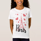 Tee-shirt BASIC Paris Girl T-Shirt