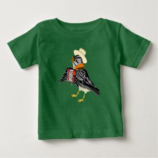 tee-shirt bird musician baby T-Shirt