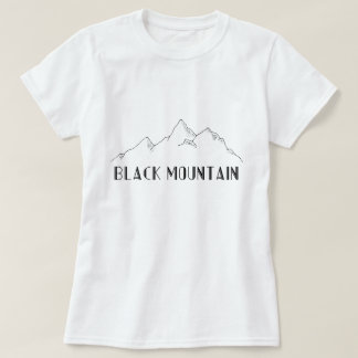 "Tee-shirt ""Black Mountain "" T-Shirt"