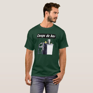 Tee-shirt Blows of bar 2 man T-Shirt