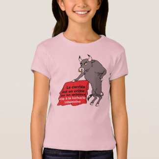 tee-shirt bull anti bullfight T-Shirt