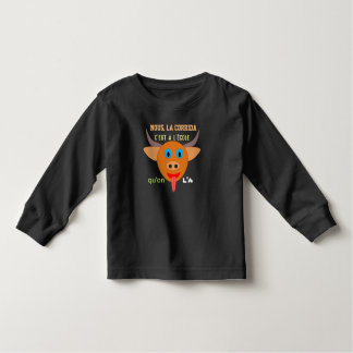 "tee-shirt ""bullfight at the school "" toddler t-shirt"