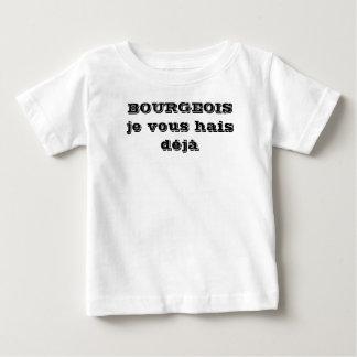 tee-shirt child anti-middle-class man baby T-Shirt