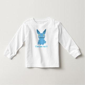 tee-shirt child blue monster toddler t-shirt