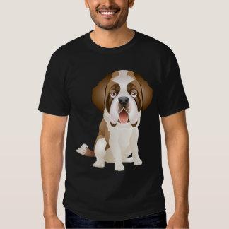 Tee - shirt de chiot de St Bernard d'amour Tshirt