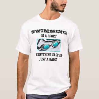 Tee - shirt de dames de natation t-shirt