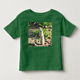 Tee - shirt d'écureuil moulu d'enfant en bas âge t-shirt pour les tous petits