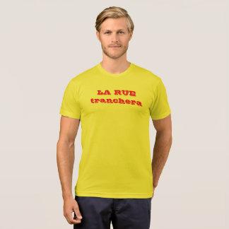 "tee-shirt demo ""the street will slice "" T-Shirt"