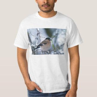 Tee - shirt femelle d'adulte de bouvreuil t-shirt