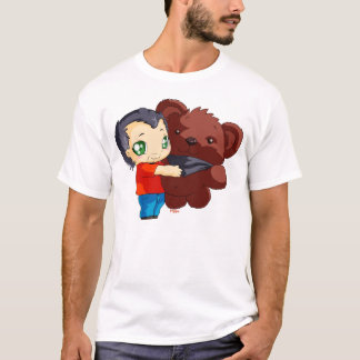 Tee-shirt Gege and his teddy bear T-Shirt