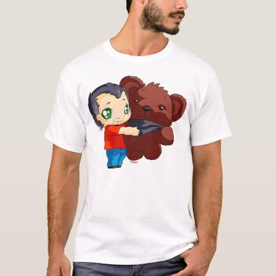 Tee-shirt Gege and his teddy bear T-Shirt