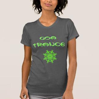Tee-shirt Goa Trance Chakra Green T-Shirt