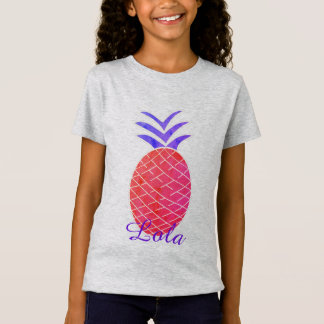 Tee-shirt in fine jersey for girls Pineapple T-Shirt