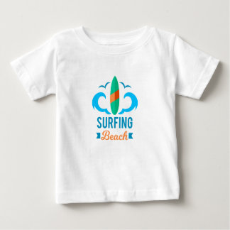 Tee-shirt Jersey End Baby Surfing Baby T-Shirt
