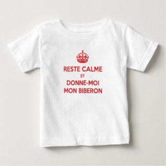 Tee-shirt Keep Calm French Feeding-bottle T-shirt