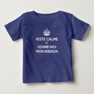 Tee-shirt Keep Calm French Feeding-bottle Tee Shirts