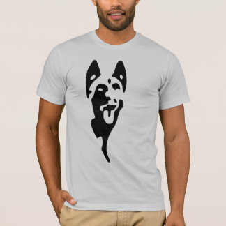 tee-shirt logo malinois head T-Shirt