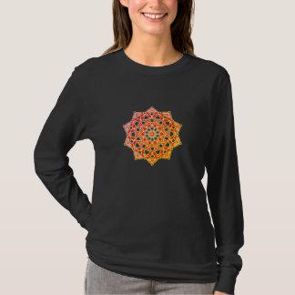 Tee-shirt Long sleeve will chakras psychedelic T-Shirt