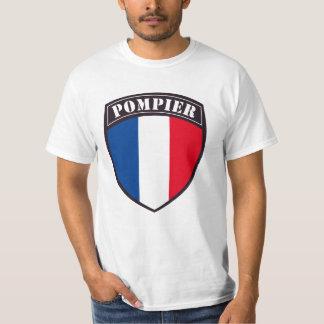 Tee-shirt Man Fireman of France T-Shirt