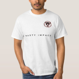 Tee-shirt NASTY White IMPACT, 1st collection T-Shirt