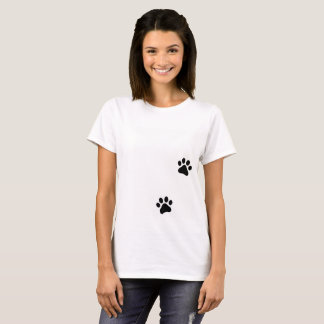 Tee shirt Pawprints