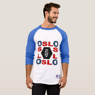 TEE-SHIRT   RAGLAN CHAMPION   DESIGN OSLO SPORT T-Shirt