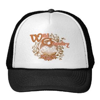 tee - shirt sauvage de cru de montagne de pays casquette