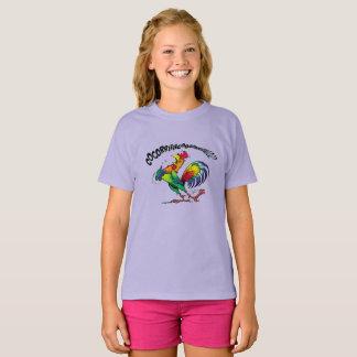 "tee-shirt ""singing cock "" T-Shirt"