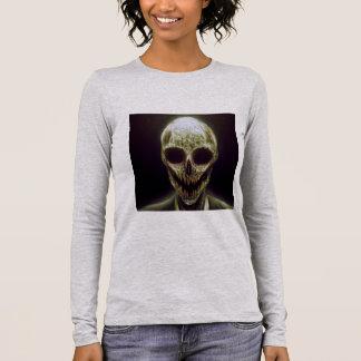 "Tee-shirt ""Skeleton"" Woman Long Sleeve T-Shirt"