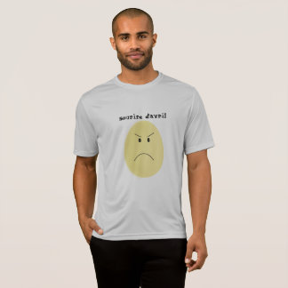 "tee-shirt ""smile of April"", egg T-Shirt"