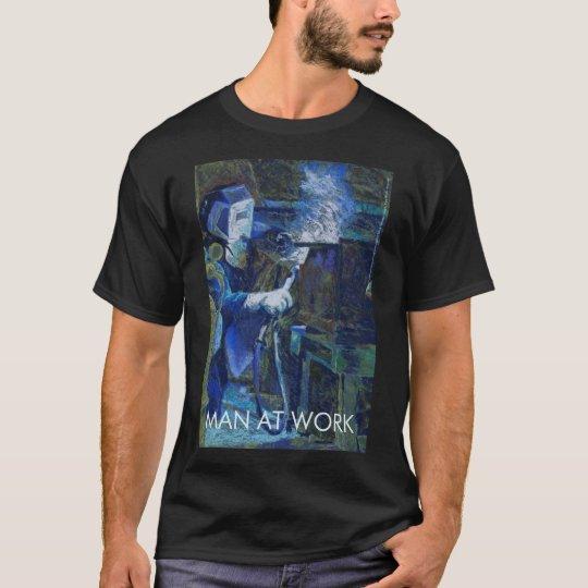 Tee-shirt Sport-teak Man At work T-Shirt