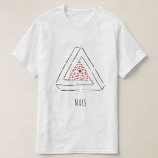 Tee-shirt Stencil Illuminati and Penrose by Mars T-Shirt