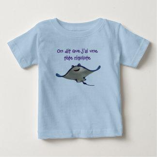 tee-shirt stripes funny head baby T-Shirt