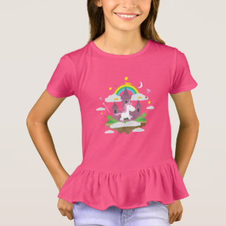 Tee-shirt To dishevel Girl Fairy/Princess T-Shirt