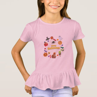 Tee-shirt To dishevel Halloween Girl T-Shirt