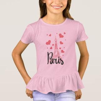 Tee-shirt To dishevel Paris Girl T-Shirt