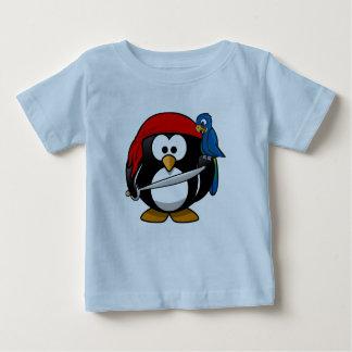 tee-shirt Tux Linux penguin corsair Baby T-Shirt