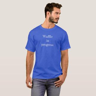 """Tee shirt """"Waffle in progress"""""""