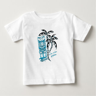 Tee-shirt white baby palm trees tiki baby T-Shirt
