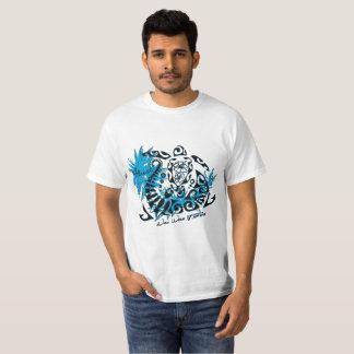 Tee-shirt white man Polynesian tortoise T-Shirt