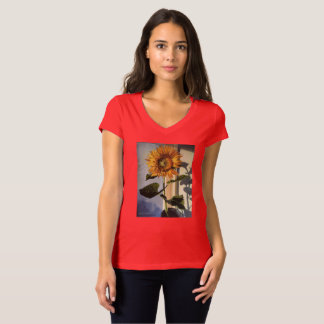 Tee shirt with Sunflower in the Window
