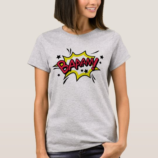 Tee-shirt Woman BASIC Comics T-Shirt