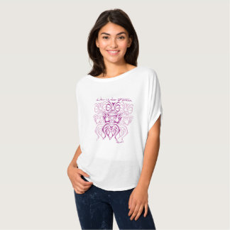 Tee-shirt woman high round 3 tiki T-Shirt