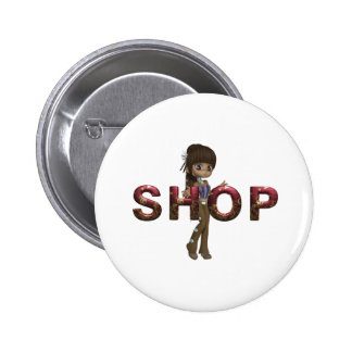 TEE Shop 2 Inch Round Button