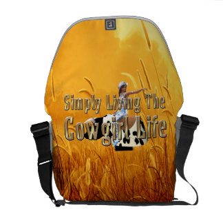 TEE Simply Living Cowgirl Life Commuter Bag