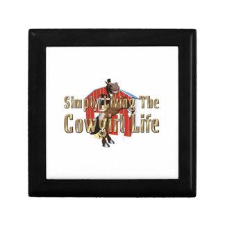 TEE Simply Living Cowgirl Life Gift Box
